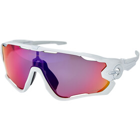 Oakley Jawbreaker Sunglasses polished white/prizm road
